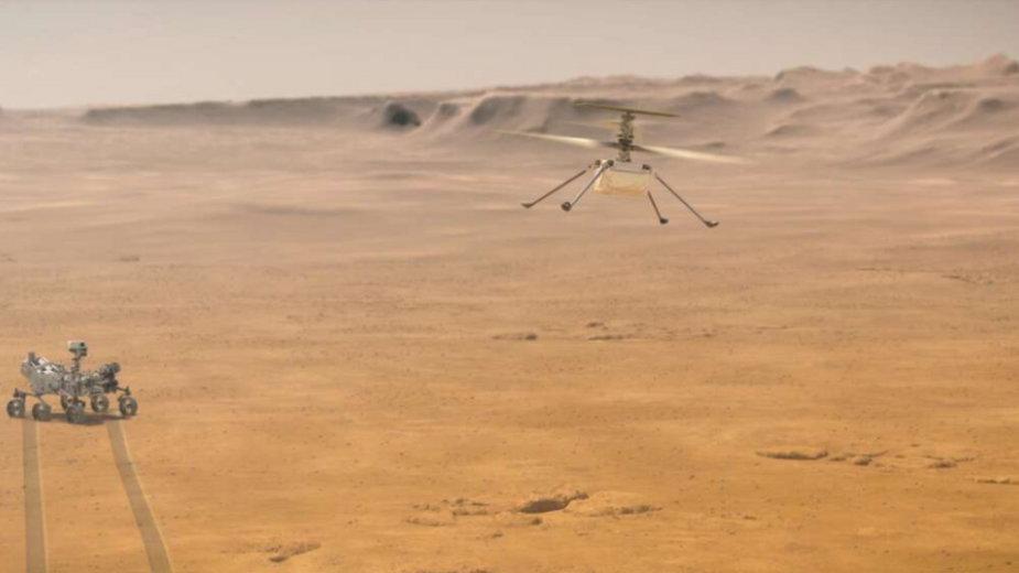 Dron Ingenuity i łazik Perseverance