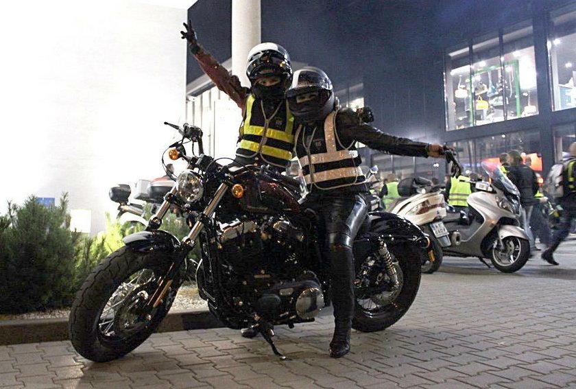 Motocykliści będą promować odblaski