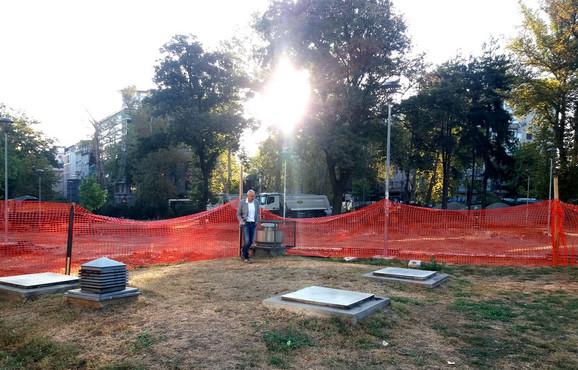 Obnova Parka Milutina Milankovića