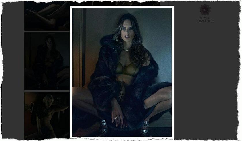 """Alessandra Ambrosio w sesji dla """"Interview Magazine"""""""