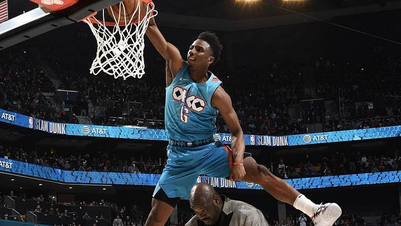 Hamidou Diallo beat all competition to win the 2019 NBA Dunk Contest [NBA]