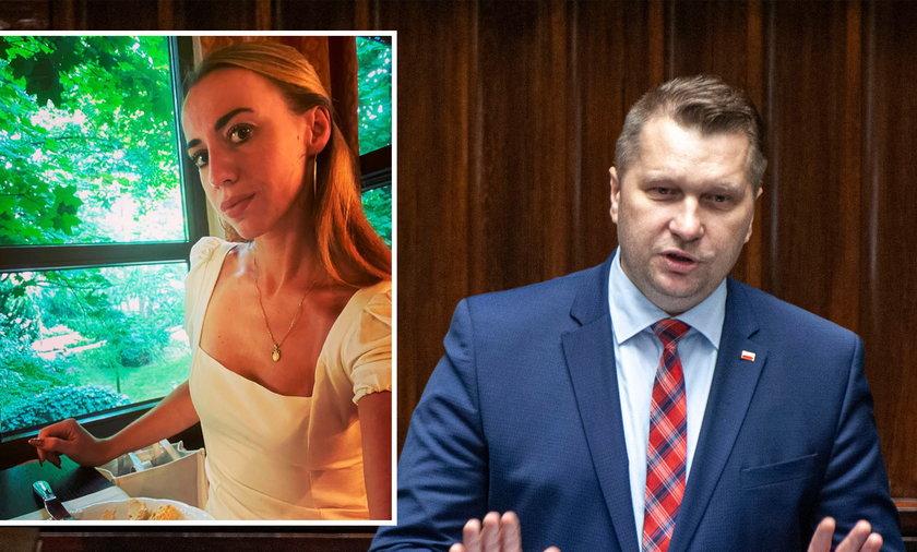 Minister edukacji Przemysław Czarnek skomentował błyskotliwą karierę żony ministra Schreibera.