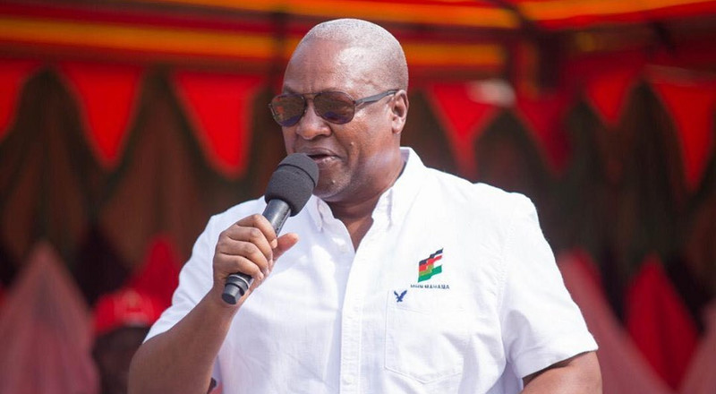 We are telling EC to tread cautiously because Ghana is a peaceful nation - Mahama