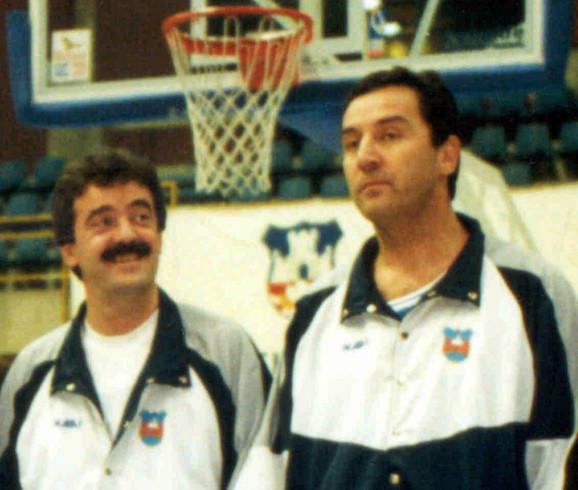Momir Bulatović i Milo Đukanović iz vremena političkog partnerstva