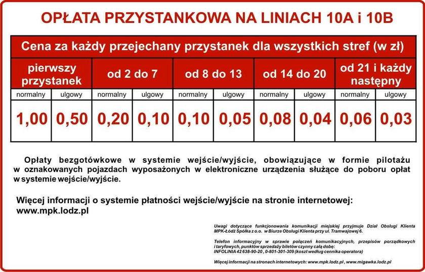 W Łodzi bilety za każdy przystanek