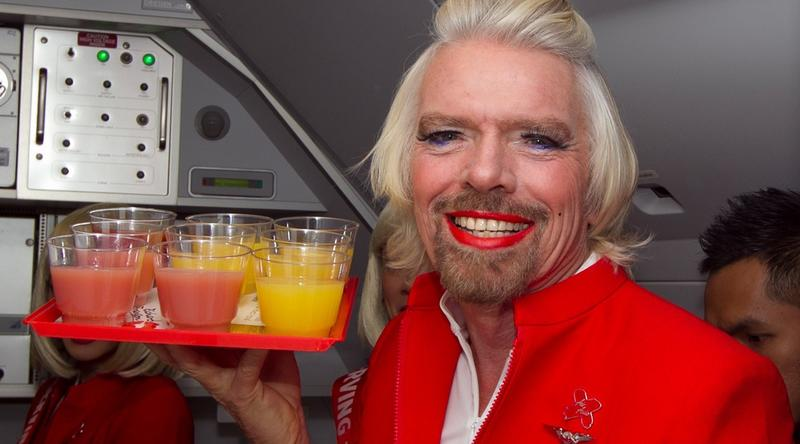 Richard Branson, miliarder i twórca Virgin Group