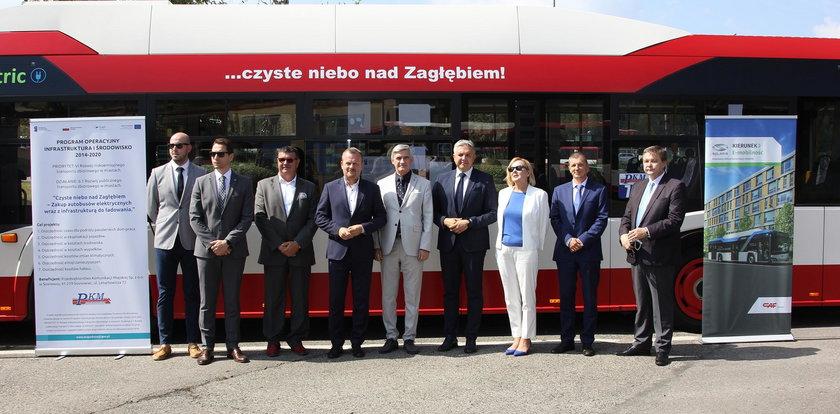 Nowe elektryki przyjadą do Sosnowca