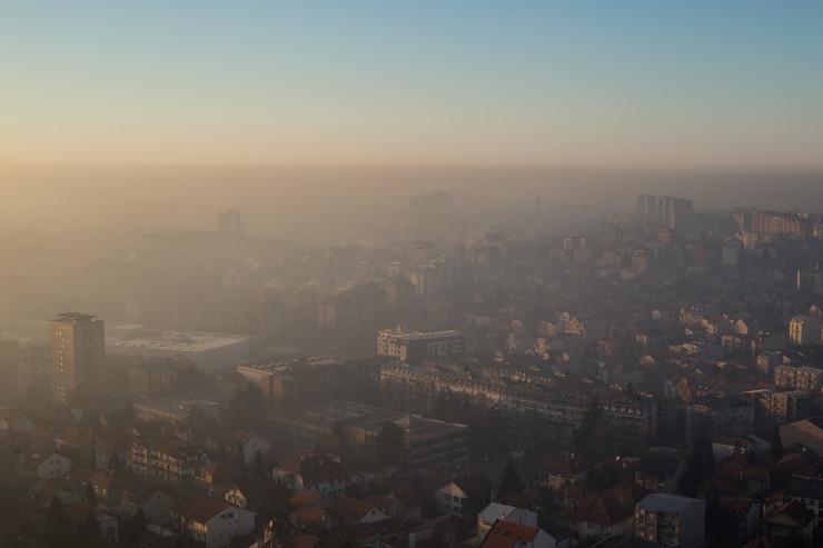 Beograd se guši