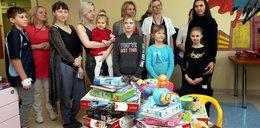 7-letnia Diana jest bohaterką. Zebrała zabawki dla chorych dzieci