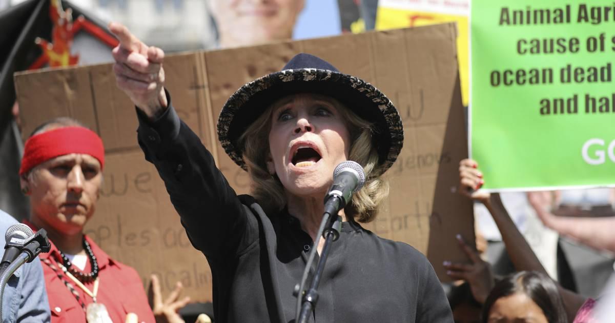 US-Schauspielerin Fonda bei Klima-Protest in Washington festgenommen