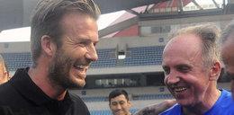 Beckham spotkał mistrza Polski