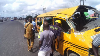 Lagosian dies in danfo bus crash caused by overspeeding