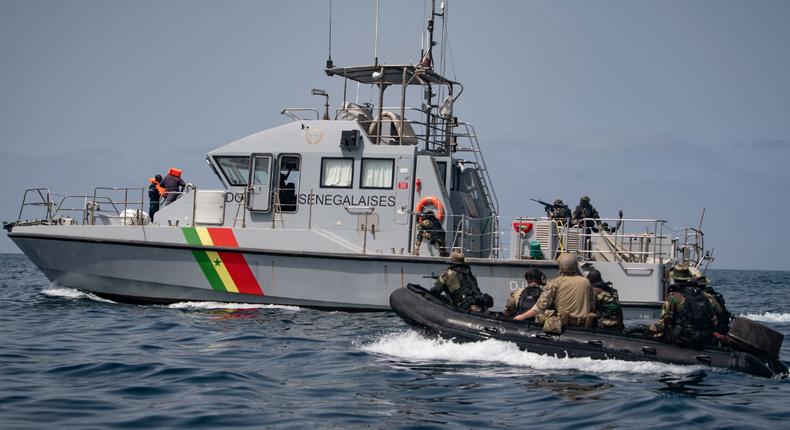 Marine nationale Sénégal