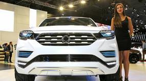 SsangYong Rexton otrzyma następcę, którego zaprojektuje Pininfarina