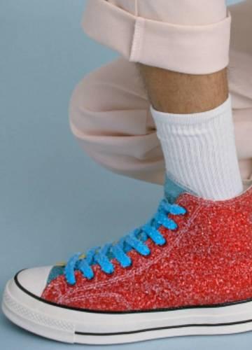 Converse macht Glitzer Sneaker mit JW Anderson Noizz