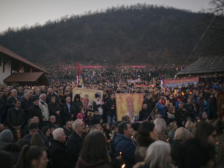 Crna Gora, litije