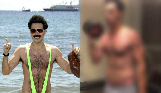 Pamtite ga kao Borata, a danas je zver u teretani