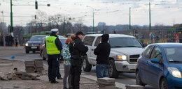 Policja wlepia mandaty w centrum