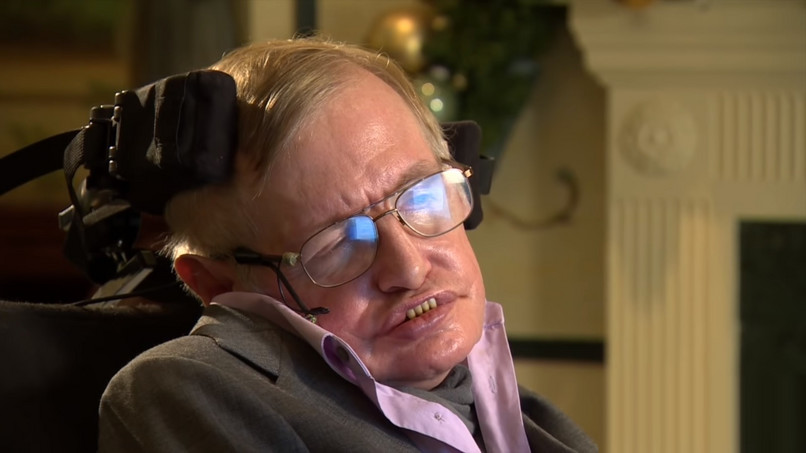 Falsul Stephen Hawking, chipurile (foto: youtube.com)