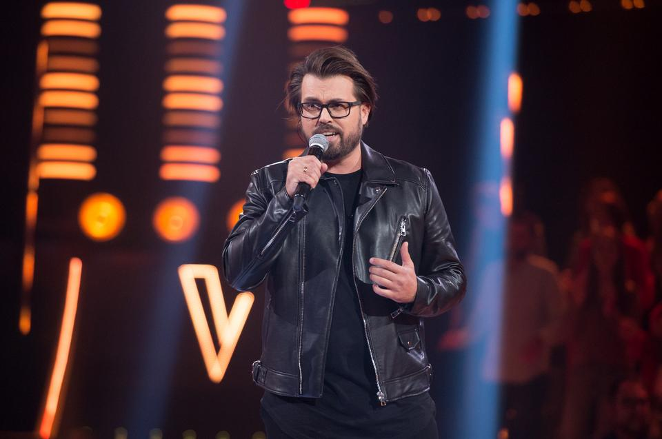 "Michał Bober w ""The Voice of Poland 11"""