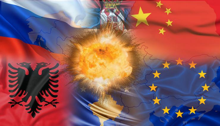 Balkan, SAD, Kina, Rusija, Kombo