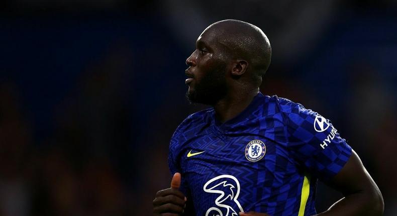 Chelsea striker Romelu Lukaku Creator: Adrian DENNIS