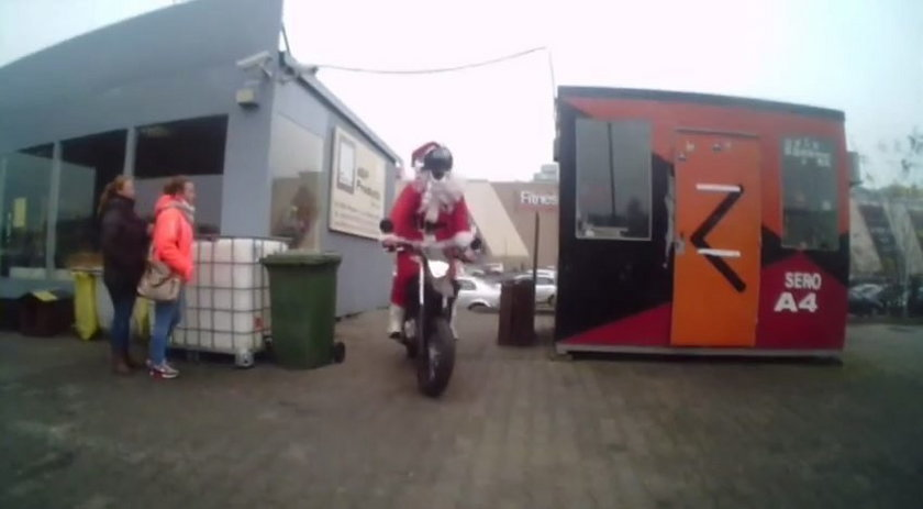 Szalony rajd Mikołajów