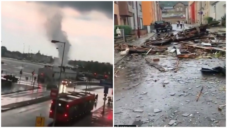 Tornado na zapadu Evrope