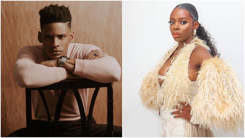 Elozonam and Diane were former housemates at the last season of Nigeria's biggest reality TV show, Big Brother Naija. [Instagram/Elozonam] [Instagram/DianeRusset]