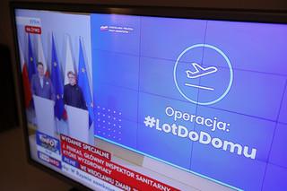 Po godzinie 22 w sobotę ruszy strona dla Polaków chcących wrócić do domu