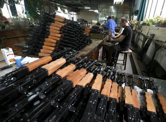 Kragujevačka fabrika je 2010. izvezla oružja u vrednosti od 17 miliona dolara