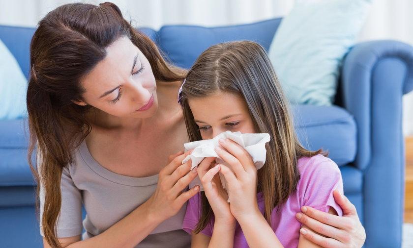 Nie warto podawać dziecku na przeziębienie antybiotyków