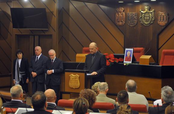 Komemorativni skup povodom smrti Dajane Bekli