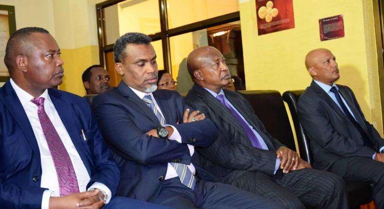 DCI George Kinoti, DPP noordin Haji, AG Karanja Kihara and EACC CEO Twalib Mbarak