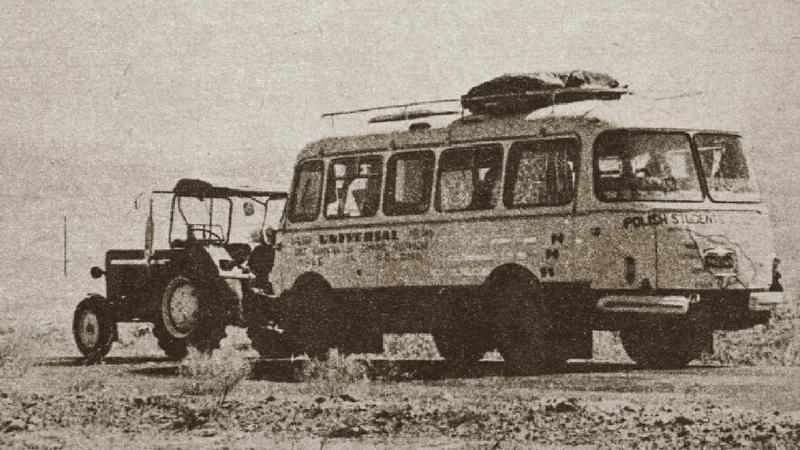 Wyprawa polskich studentów traktorem na Bliski Wschód w latach 70.