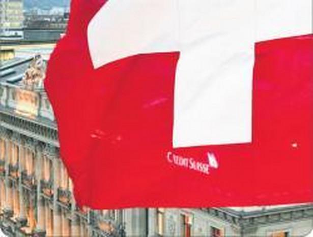 Szwajcarskie banki muszą znaleźć korzystne sposoby ulokowania kapitału. Tymczasem z powodu przewartościowania narodowej waluty kredyty we frankach są coraz mniej popularne i w kraju, i za granicą Fot. . Reuters/Forum