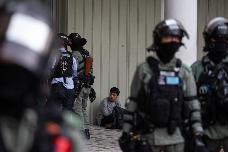 hong kong policija