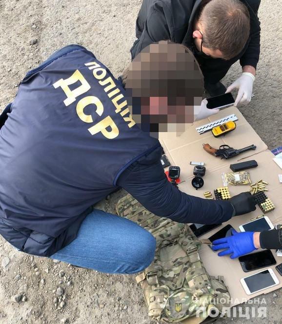 Hapšenje napadača na Zvicera