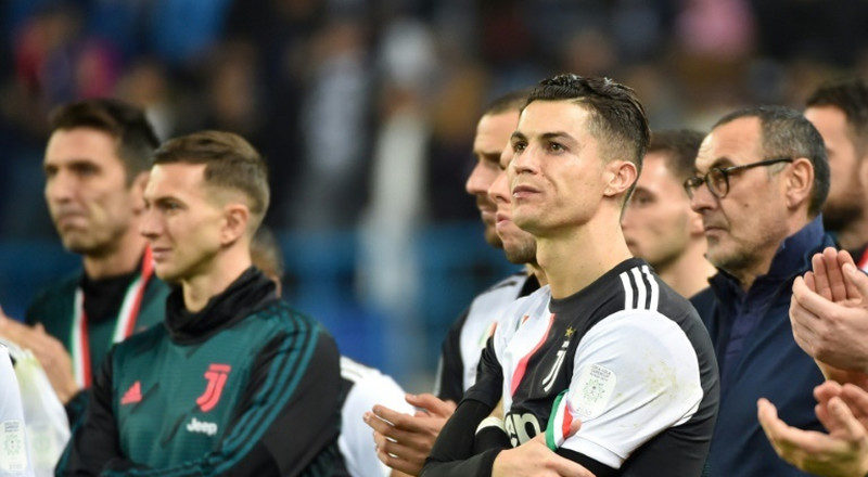 Juventus boss Maurizio Sarri says he's annoyed that Lionel Messi has more Ballon d'Or than his player Cristiano Ronaldo
