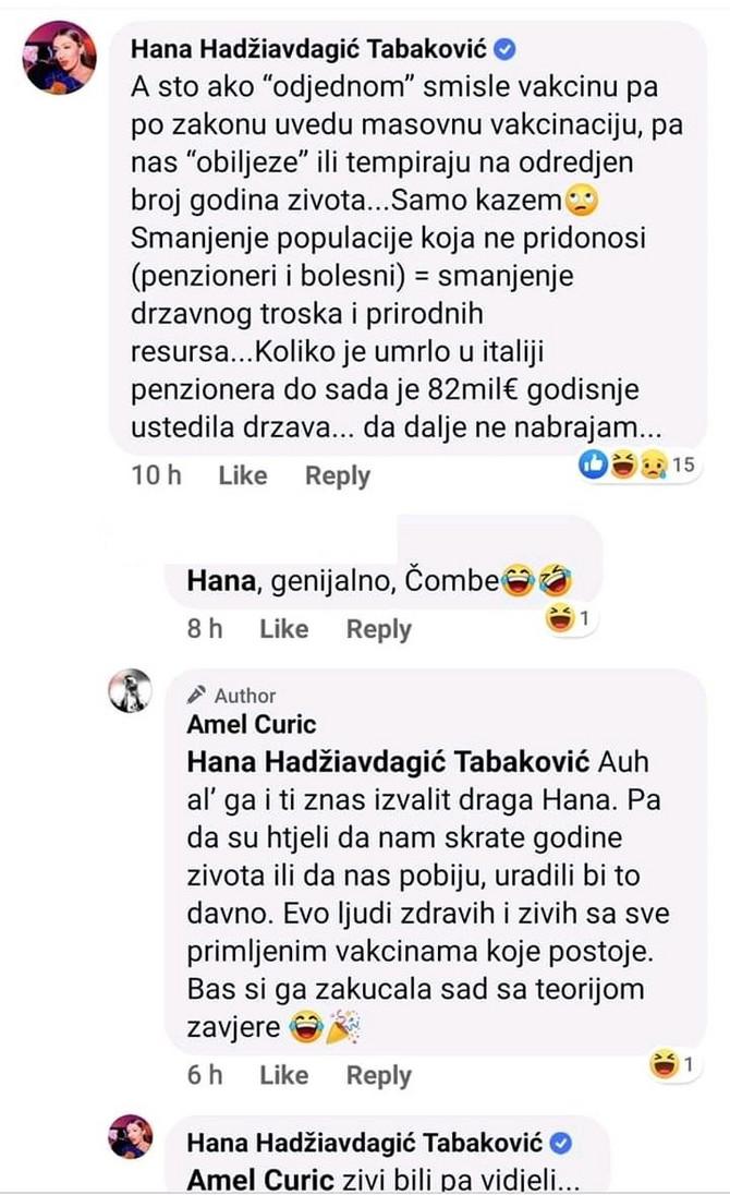 Hana komentar