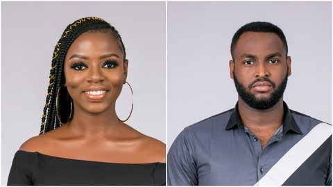Diane has been friend-zoned by Nelson, who says he just wants to be friends with her. [Multichoice Nigeria]