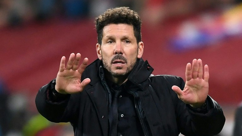 Atletico Madrid coach Diego Simeone insisted Barcelona remain the best team in the world despite their recent struggles ahead of the sides third meeting this month