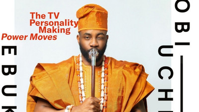 Ebuka dazzles in Agbada for his GQ feature