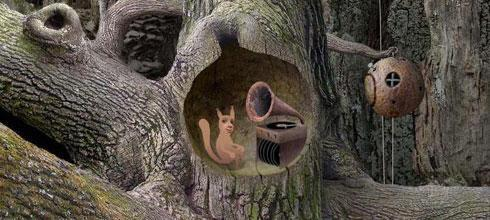 "Screen z gry ""Samorost"""