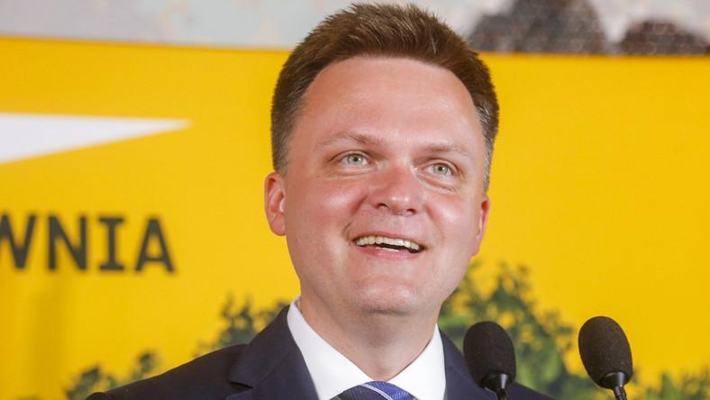 Szymon Hołownia fot. Baranowski/AKPA