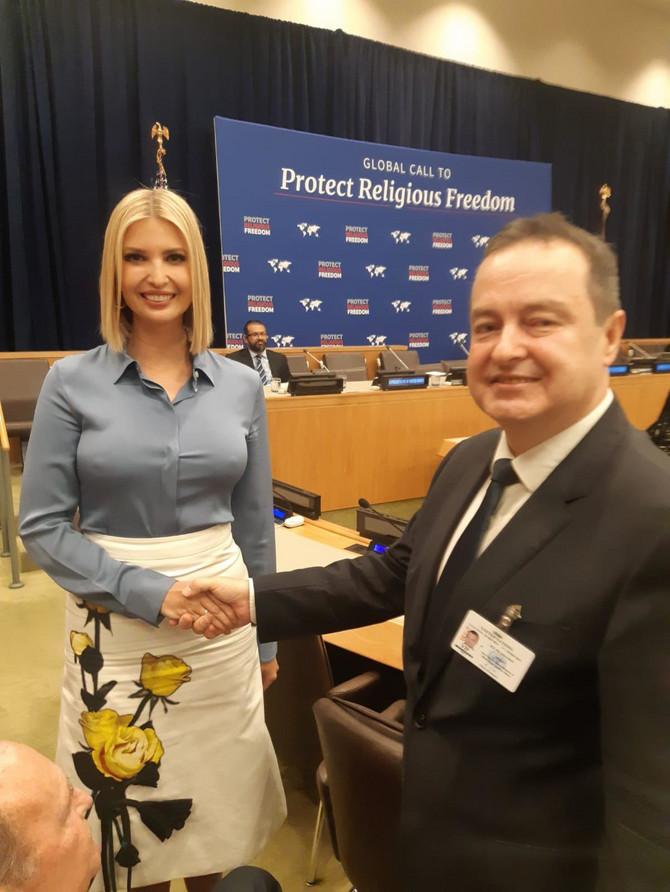 Ivanka Tramp i Ivica Dačić danas u Njujorku: pogledajte i njenu izgužvanu suknju