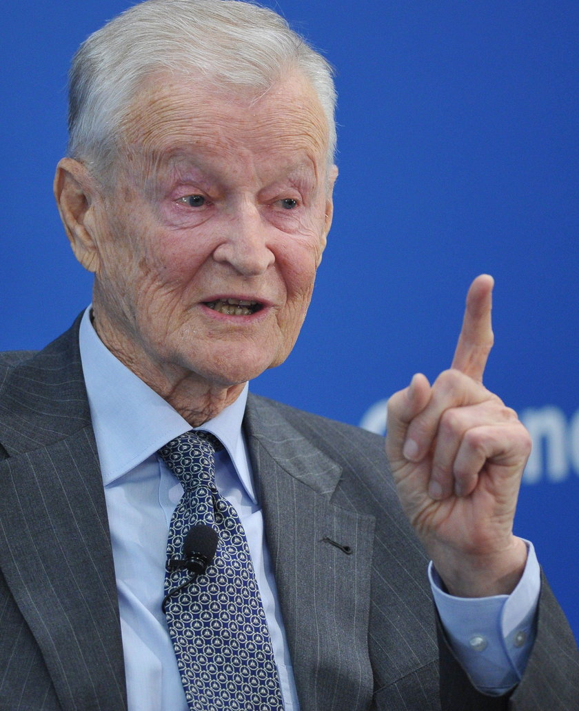 FILE PHOTO - Former U.S. National Security Advisor, Zbigniew Brzezinski, speaks at a forum hosted by