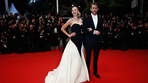"Blake Lively i Ryan Reynolds w dress codzie ""white tie"""