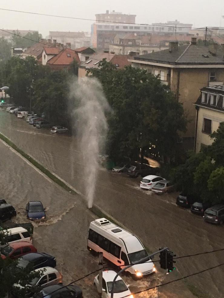 nevreme236, gejzir u Cvijićevoj