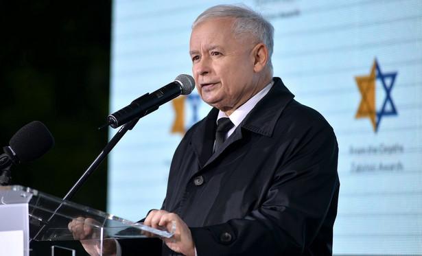 """Prezes PiS powiedział, że Holokaust """"był arcyzbrodnią i wyrazem najskrajniejszego zła"""""""